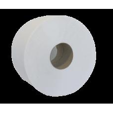 """Бумага туалетная макулатурная """"Джамбо"""" Buroclean, 130м, на гильзе, серая"""