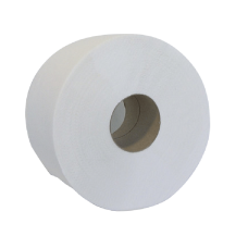 """Бумага туалетная макулатурная """"Джамбо"""" Buroclean, 100м, на гильзе, белая"""