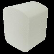 Бумага туалетная целлюлозная Buroclean листовая, 150шт, белая
