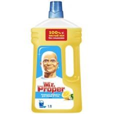 Универсальное средство для мытья пола и стен Mr. Proper, 1л, лимон