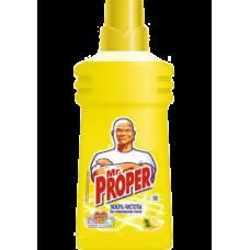 Универсальное средство для мытья пола и стен Mr. Proper, 500 мл, лимон