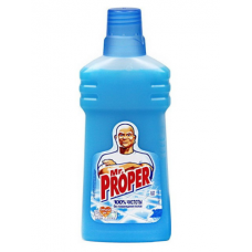 Универсальное средство для мытья пола и стен Mr. Proper, 500 мл, океан