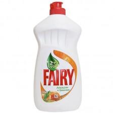 Средство для мытья посуды Fairy, 500 мл, апельсин и лимонник