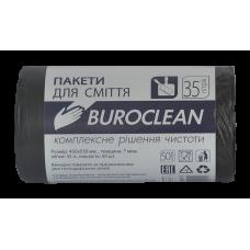 Пакеты для мусора ECO 35л/50шт. Buroclean (черные)