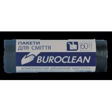 Пакеты для мусора ECO 60л/20шт. Buroclean (черные)
