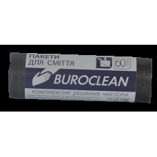 Пакеты для мусора ECO 60л/40шт. Buroclean (черные)