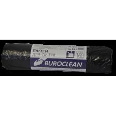 Пакеты для мусора ECO 160л/10шт. Buroclean (черные)