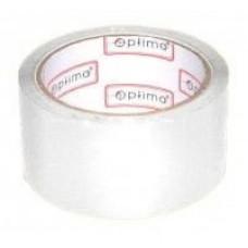 Лента клейкая упаковочная 48 мм х 33 м Optima, белая