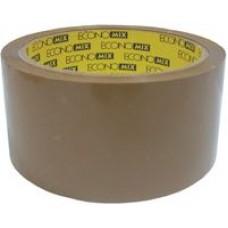 Лента клейкая упаковочная 48 мм х 100 м Economix, коричневая