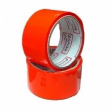 Лента клейкая упаковочная 48 мм х 33 м Optima, красная