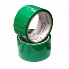 Лента клейкая упаковочная 48 мм х 33 м Optima, зеленая