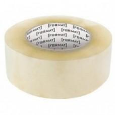 Лента клейкая упаковочная 45 мм х 50 яр. Format, прозрачная