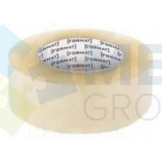 Лента клейкая упаковочная 45 мм х 66 яр. Format, прозрачная