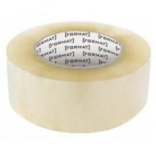 Лента клейкая упаковочная 45 мм х 100 яр. Format, прозрачная